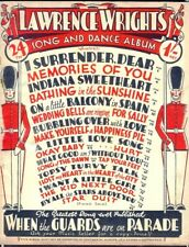 Lawrence Wright's 24th SONG & DANCE ALBUM. Sheet Music. 48-Pages. Free UK Post