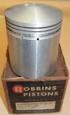 1947-1961 Matchless G3 349cc 69mm STD bore 6.4-1 CR NOS Robbins bare piston ONLY