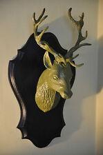 Tête de cerf / trophée de chasse vintage DECO