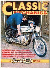 Classic Mechanics 4 AMC twins Norvin Laverda cams Excelsior Enfield 250 BSA fork