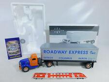 CA106-2# First Gear 1:34 19-2699 Sattelzug International KB-10 Roadway, NEUW+OVP