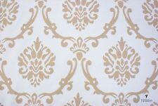 Tessuto Arredamento Damasco MadeInItaly Shabby Chic cm. 50x280-Upholstery Fabric