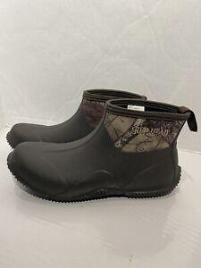 RedHead Mallard Waterproof Mid Rubber Slip On Boots Men Camo Size 11 7544173