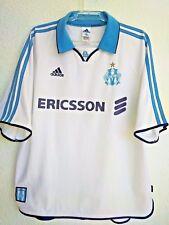 1999-2000 Maillot Olympique de  Marseille Domicile  Adidas football shirt (XL)