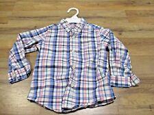 Button Up Plaid Shirt Carter's 24 Months, Collared, Pink & Blue, Cotton, Boys
