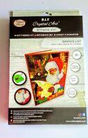 "Craft Buddy Crystal Art Notebook ""Santa's List"""