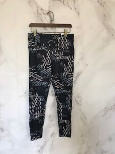 reebok Womens Leggings Size Large Mutlicolored S Lux Bold High NWT