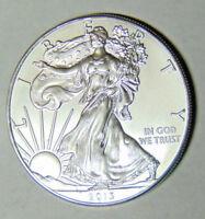 BU 2013 American Silver Eagle .999 Fine Silver Dollar 1 oz Uncirculated (112317)