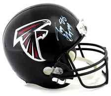 Tony Gonzalez Autographed/Signed Atlanta Falcons Riddell Full Size NFL Helmet