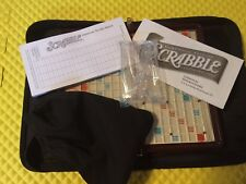 2001 Travel Scrabble Game Folio Edition Parker Bros 100% Complete Mint Free Ship