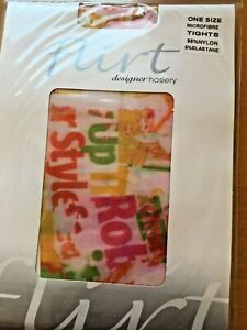 Patterned Tights By Flirt Rob Style One Size K9