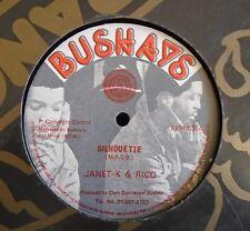 "Janet K & Rico ~ Silhouette ~ 12"" SINGLE"