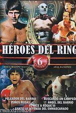 Heroes del Ring |DVD| 6 PELICULAS| 2Discos|Peleador del Barrio y mas.. ESPANOL