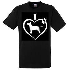 Englisch Bull Terrier Hund Love T Shirt