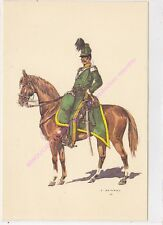 CP MILITARIA J DEMART Costumes Militaires 1er chasseurs à cheval Capitaine 1838