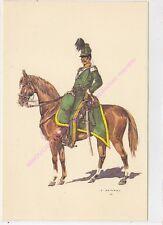 CP MILITARIA J DEMART Costumes Militaires 1er chasseurs à cheval Capitaine 1838