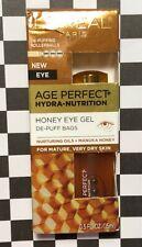 L'Oreal Age Perfect Hydra Nutrition Honey Eye Gel  0.5 Fl Oz