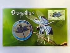 2017 Dragonflies Stamp & Medallion Cover Limited Edition #3070 / 3500