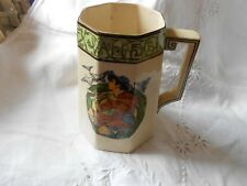 Antique Royal Doulton Series ware Tankard D4077 - Piping Down the Valleys 1917