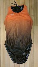 Agonswim Hi-neck zip back waterpolo suit hydrasuit bodysuit Sz. 36 NWOT