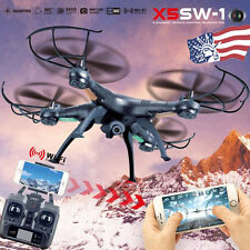 X5SW-1 Wifi FPV RTF 2.4G 4CH RC Quadcopter Gyro Drone with HD Camera Helicopter