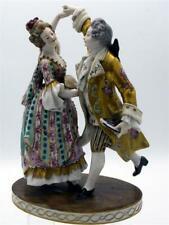 Rudolstedt Thürigen Porzellan Tanzpaar Figurengruppe Dresdner Porzellan [schw