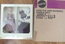 High Tea and Savories Silkstone Barbie Giftset 2006 W/Shipper