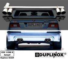 E39-1-ESD-S Duplinox BMW E39 M5 Duplex Sport Auspuff M5 Optik Blende