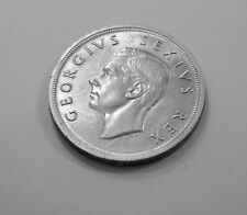 South Africa 5 Shillings 1952 UNC Uncirculated  Coin Some Slight Toning