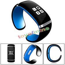 Bluetooth Wrist Bracelet Smart Watch Phone For HTC LG Android IOS Samsung iPhone