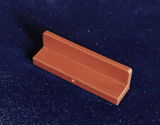 LEGO  Tile Panel 1 x 4 x 1 43337  - brown - pack of 8