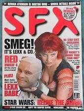 SFX #49 March 1999, Red Dwarf, Lexx, Star Wars, Babylon 5, X-Files, Buffy