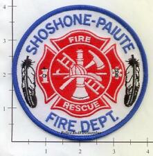 Nevada Idaho - Shoshone Paiute NV ID Fire Dept Patch