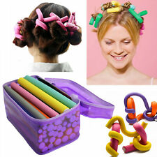 42 Pack Twist Flex Flexi Bendy Roller Rods Foam Magic Hair Curlers Curling