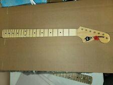 Gloss Large Head CBS Era Maple Custom Made Guitar Neck Fits Fender Strat #76