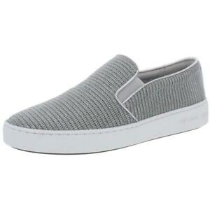 MICHAEL Michael Kors Womens Keaton Faux Leather Fashion Sneakers Shoes BHFO 5049