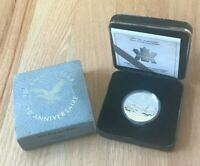 1987-1997 Canada 1 One Dollar Silver Proof - Loon Dollar Anniversary- New In Box