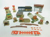 BE922-1# 12x Faller H0 Modelle Stellwerke, Kiosk, Wärterhäuschen, Bahnübergänge
