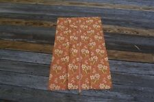 Vtg Antique 1800's 19c Silk fabric with Silk Ribbon Hand Done Feather stitch