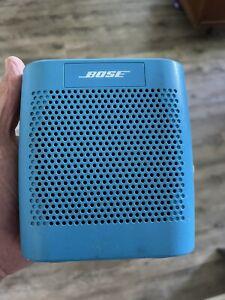 Bose SoundLink Color Bluetooth Speaker II - Aquatic Blue Used.