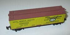 "Kadee MTL 49030  40' Wood Reefer ""H.M. Noack & Sons"" NADX 3012 > Top"