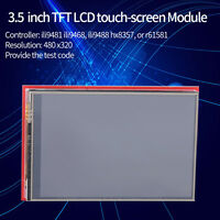 3.5 inch TFT LCD Touch-screen Module 480 x320 for Mega2560 Board