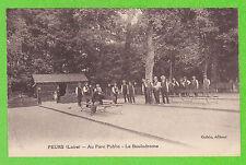 42 - FEURS - Au Parc Public - Le Boulodrome (Pétanque, jeu de Boules)