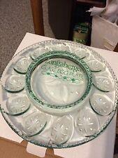 Longaberger Glass Egg Plate