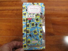 NEW Lilly Pulitzer iPhone 4/4s Cover Case KAO Kappa Alpha Theta Blue Yellow $28.