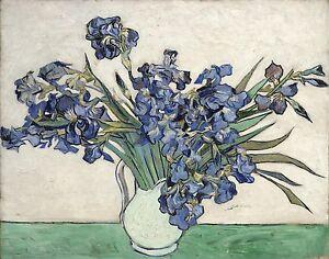 Irises. 1889  by Vincent Van Gogh Giclee Canvas Print