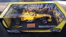Giancarlo Fisichella Hotwheels Jordan EJ13 Brazil 2003 Win 1:18 Die Cast Model.