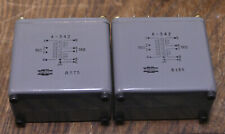Pair of Tamura A-343 interstage transformer special order for Sakuma amp