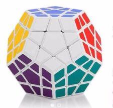 Megaminx Rubik's Speed Magic Cube 3x3x3 Puzzles White