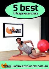 Toning EXERCISE DVD Barlates Body Blitz - 5 Best Triceps Exercises!